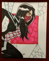Silk commission I did at MBCC! by ZombieErnie
