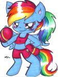 C: MLP Boxer Rainbow Dash by Lilymint7