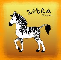 Zebra by Lottjuh