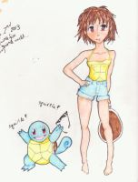 Squirtle Girl by Musical-Ink