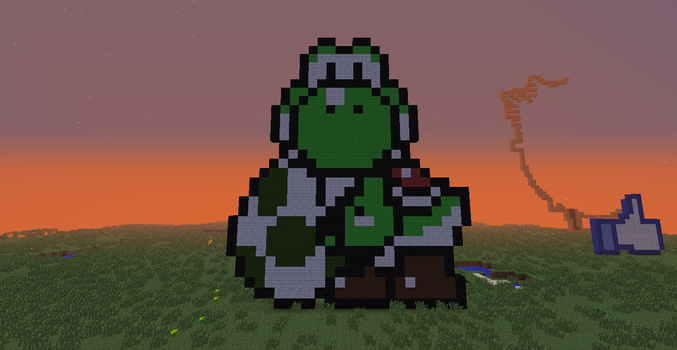 Minecraft- Yoshi's Egg by Puppylover5