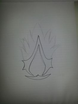 Assassins Creed Symbol (Work in progress) by Ev4sIoN