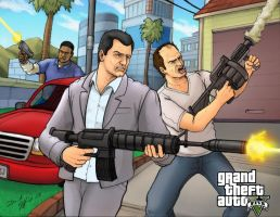 Grand Theft Auto V by Daniel-Jeffries