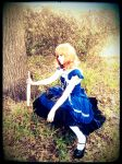 Thoughtful Alice by yaoiqueen-13