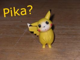 Pikachu is confused by dylrocks95