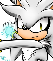 Silver The hedgehog by LiaMenietowLove