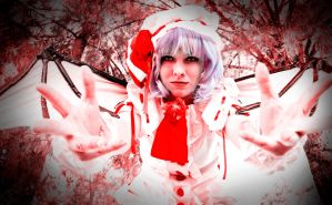 Remilia Scarlet: I Could Tear You Apart by ValdaValsha