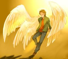 Archangel Gabriel by Life-Writer