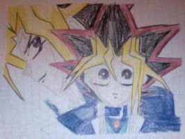 Yugioh, Atem and Yugi by CanadianGal11