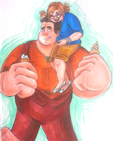 Got a little something on your cheek there big guy by JeebusOfTheSwatKats