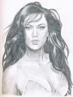 Megan Fox 2 by DarkSilverStudio