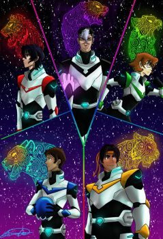 More Voltron by BlueDaisy767