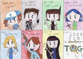 TAOTMG main characters [Revised] by MaiMaiLim