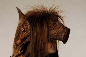 Witches Head Mask Side Profile 2 by Catzombies