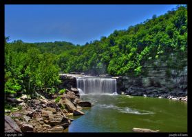 "cumberland falls 01""version"" by Obsidian133"
