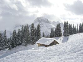Lech Hut by neilwightman