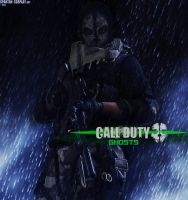 Call of Duty Ghosts Logan Walker Cosplay by SPARTANalexandra
