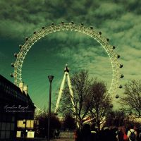London Eye by xTive