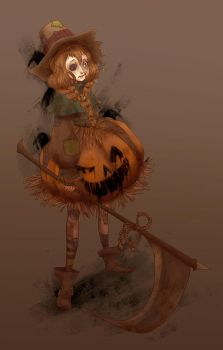 +Scarecrow girl+ by PANDAMELLONS