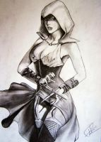 Assassins Creed - Female version by RaduTataru