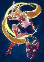 Sailor Moon for Sketch Dailies by manee-sketch