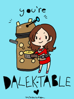 DW spoilers: Dalek-table by Lycorise