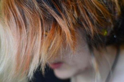 Pretty Close Up of Hair by Verbophobic