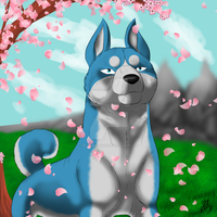 Spring in Ohu by Bramble-wolf