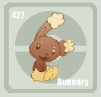 427 Buneary by Pokedex