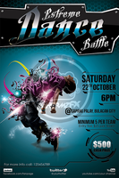 Extreme Dance Battle Flyer Template by koza30