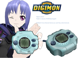 MMD- Digivice -DL by MMDFakewings18