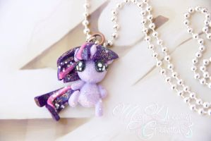 Twilight Sparkle Baby Plushie Necklace by IvrinielsArtNCosplay