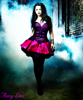 'Fear Is Only In Our Minds' Amy Lee by dark-baudelaire