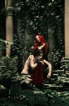 Forested temple-gift for B by Dream-traveler