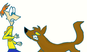 ________Phineas___vs_-_Wolf___709429 by Xtreme-Cartoons