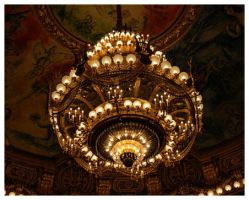 Opera Garnier chandelier by WingsandRings