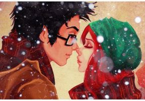 James y Lily Potter by Majo623