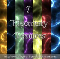 Electricity Textures by Rubyfire14-Stock