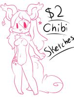 $2 USD Chibi Sketches (OPEN) by LaurenPuff