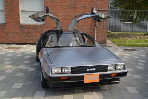 Back to the Future Delorian at Stoke-Con-Trent 201 by masimage