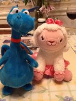Doc Mcstuffins: Lambie and Stuffy Plushies by sweetieboom8cookiemo