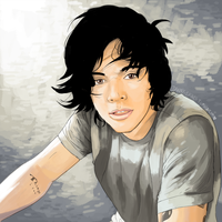 Fringe!Harry by danny-spikes