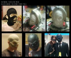 Black mask silicone first pull by ThefastestBluralive