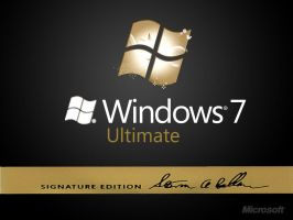 Windows 7 Ultimate Sig Edition by Randydorney