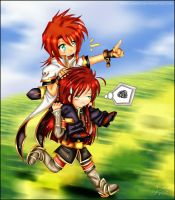 Faster, Asch, faster by iMirechan