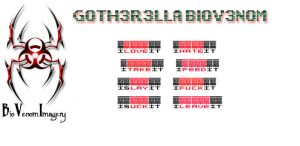 Gotherella Banner 1 by BioVenomImagery