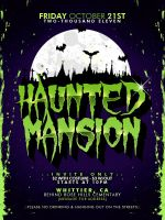 HAUNTED MANSION by baker2pd