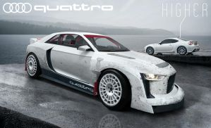 Audi Quattro by Higher UPDATE! by DzDesign