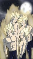 Dragon Ball Z bros by ivan1426