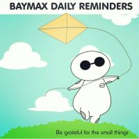BAYMAX DAILY REMINDERS :The Small things  by peore